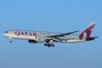 Scotchさんが、成田国際空港で撮影したカタール航空 777-2DZ/LRの航空フォト(飛行機 写真・画像)