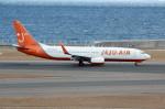 アイスコーヒーさんが、中部国際空港で撮影したチェジュ航空 737-8BKの航空フォト(飛行機 写真・画像)