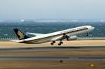 アイスコーヒーさんが、中部国際空港で撮影したシンガポール航空 A330-343Xの航空フォト(写真)