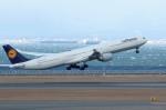 アイスコーヒーさんが、中部国際空港で撮影したルフトハンザドイツ航空 A340-642の航空フォト(写真)