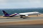 アイスコーヒーさんが、中部国際空港で撮影したタイ国際航空 777-3D7の航空フォト(飛行機 写真・画像)