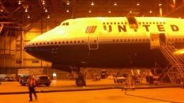 Sean0624さんが、ジョン・F・ケネディ国際空港で撮影したユナイテッド航空 747-422の航空フォト(飛行機 写真・画像)