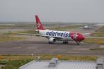 T.Sazenさんが、関西国際空港で撮影したエーデルワイス航空 A330-223の航空フォト(写真)