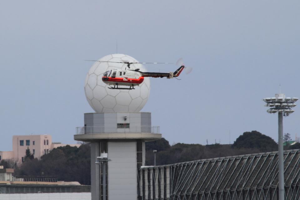 T.Sazenさんの読売新聞 MBB Bo 105 (JA134Y) 航空フォト