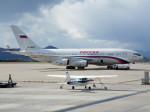 アイスコーヒーさんが、函館空港で撮影したロシア航空 Il-96-300の航空フォト(飛行機 写真・画像)