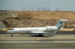 パンダさんが、羽田空港で撮影した北京首都航空 G-V-SP Gulfstream G550の航空フォト(写真)