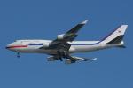 rwy32さんが、金海国際空港で撮影した大韓民国空軍 747-4B5の航空フォト(写真)