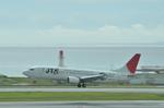 あっしーさんが、那覇空港で撮影した日本トランスオーシャン航空 737-4Q3の航空フォト(写真)