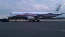 Sean0624さんが、ジョン・F・ケネディ国際空港で撮影したユナイテッド航空 A320-232の航空フォト(飛行機 写真・画像)