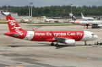 WING_ACEさんが、シンガポール・チャンギ国際空港で撮影したエアアジア A320-216の航空フォト(飛行機 写真・画像)