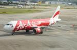 WING_ACEさんが、シンガポール・チャンギ国際空港で撮影したフィリピン・エアアジア A320-216の航空フォト(飛行機 写真・画像)