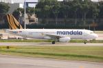 WING_ACEさんが、シンガポール・チャンギ国際空港で撮影したタイガー・マンダラ A320-232の航空フォト(飛行機 写真・画像)