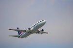 ちいたさんが、那覇空港で撮影したタイ政府 737-4Z6の航空フォト(写真)