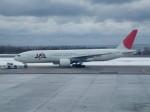 アイスコーヒーさんが、函館空港で撮影した日本航空 777-246の航空フォト(写真)