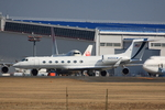 speedbirdさんが、成田国際空港で撮影したグランド・ウェアハウス G-V-SP Gulfstream G550の航空フォト(写真)