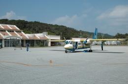 ライトレールさんが、慶良間空港で撮影した琉球エアーコミューター BN-2B-26 Islanderの航空フォト(飛行機 写真・画像)