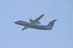 uhfxさんが、関西国際空港で撮影した国土交通省 航空局 DHC-8-315Q Dash 8の航空フォト(飛行機 写真・画像)