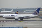 kanadeさんが、フランクフルト国際空港で撮影したユナイテッド航空 767-224/ERの航空フォト(飛行機 写真・画像)