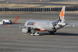 mitsuさんが、成田国際空港で撮影したジェットスター・ジャパン A320-232の航空フォト(飛行機 写真・画像)
