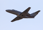 ふじいあきらさんが、広島空港で撮影した読売新聞 525A Citation CJ1の航空フォト(写真)