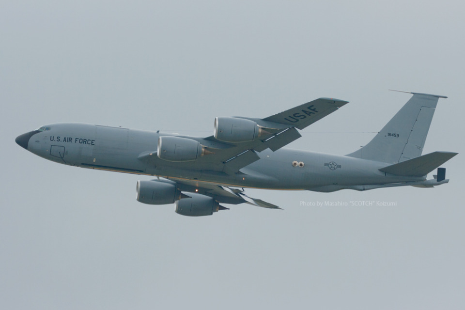 Scotchさんのアメリカ空軍 Boeing C-135 Stratolifter (59-1459) 航空フォト