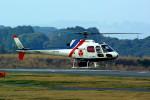 rjnsphotoclub-No.07さんが、静岡空港で撮影したアジア航測 AS350B Ecureuilの航空フォト(飛行機 写真・画像)