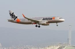 うえぽんさんが、関西国際空港で撮影したジェットスター・アジア A320-232の航空フォト(写真)