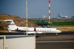 パンダさんが、羽田空港で撮影したウェルズ・ファーゴ・バンク・ノースウェスト G-Vの航空フォト(写真)