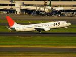 アイスコーヒーさんが、羽田空港で撮影した日本トランスオーシャン航空 737-4Q3の航空フォト(飛行機 写真・画像)