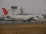 アイスコーヒーさんが、函館空港で撮影した日本航空 747-446Dの航空フォト(飛行機 写真・画像)