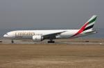 WING_ACEさんが、関西国際空港で撮影したエミレーツ航空 777-F1Hの航空フォト(飛行機 写真・画像)