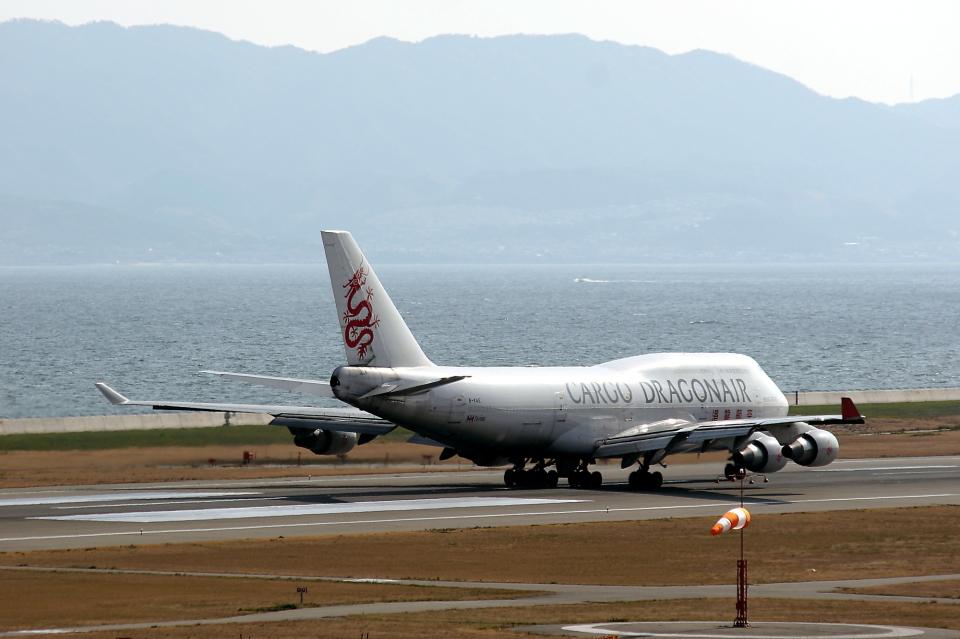 MOHICANさんの香港ドラゴン航空 Boeing 747-400 (B-KAE) 航空フォト