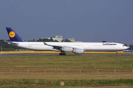 航空フォト:D-AIHT ルフトハンザドイツ航空 A340-600