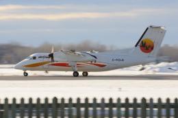 aircanadafunさんが、モントリオール・ピエール・エリオット・トルドー国際空港で撮影したクリーベック航空 DHC-8-102 Dash 8の航空フォト(飛行機 写真・画像)
