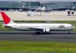 JA8077さんが、羽田空港で撮影した日本航空 767-346の航空フォト(飛行機 写真・画像)