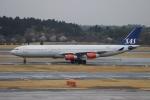 uhfxさんが、成田国際空港で撮影したスカンジナビア航空 A340-313Xの航空フォト(飛行機 写真・画像)
