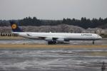 uhfxさんが、成田国際空港で撮影したルフトハンザドイツ航空 A340-642の航空フォト(飛行機 写真・画像)