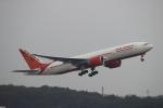 uhfxさんが、成田国際空港で撮影したエア・インディア 777-237/LRの航空フォト(飛行機 写真・画像)
