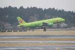 uhfxさんが、成田国際空港で撮影したS7航空 A320-214の航空フォト(飛行機 写真・画像)