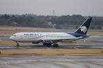 uhfxさんが、成田国際空港で撮影したアエロメヒコ航空 767-25D/ERの航空フォト(飛行機 写真・画像)