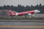 uhfxさんが、成田国際空港で撮影したエアアジア・ジャパン(〜2013) A320-216の航空フォト(飛行機 写真・画像)