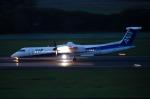パンダさんが、仙台空港で撮影したANAウイングス DHC-8-402Q Dash 8の航空フォト(写真)
