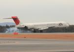 ふじいあきらさんが、広島空港で撮影した日本エアシステム MD-90-30の航空フォト(飛行機 写真・画像)