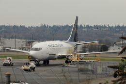 BanaBanaさんが、ボーイングフィールドで撮影したノリノール・エビエーション 737-2B6C/Advの航空フォト(飛行機 写真・画像)