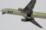 Dojalanaさんが、函館空港で撮影したAIR DO 767-381の航空フォト(飛行機 写真・画像)