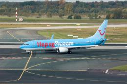 jombohさんが、デュッセルドルフ国際空港で撮影したハパックフライ 737-8K5の航空フォト(飛行機 写真・画像)