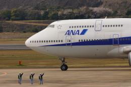 pringlesさんが、長崎空港で撮影した全日空 747-481(D)の航空フォト(飛行機 写真・画像)
