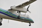snow_shinさんが、福岡空港で撮影したオリエンタルエアブリッジ DHC-8-201Q Dash 8の航空フォト(飛行機 写真・画像)