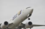 snow_shinさんが、福岡空港で撮影したスカイマーク 737-8HXの航空フォト(写真)