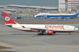 jun☆さんが、香港国際空港で撮影したキングフィッシャー航空 A330-223の航空フォト(飛行機 写真・画像)
